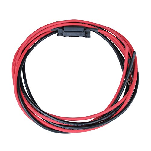 3M 16mm2Núcleo único rojo negro cable extensión