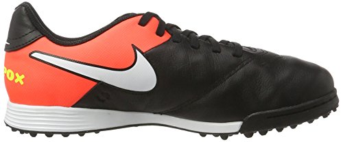 Nike 819191-018, Chaussures de Football Mixte Adulte Noir (Black/white/hyper Orange/volt)