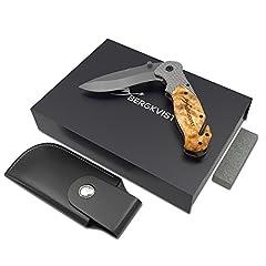 BERGKVIST® 3-in-1 Taschenmesser K19 extra