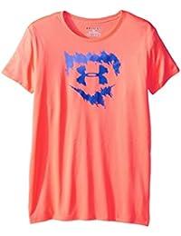 Under Armour Mädchen Softball Logo T-Shirt