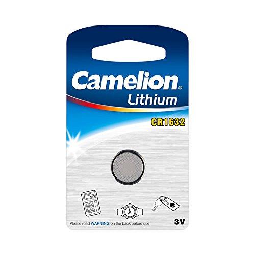 Camelion CR1632-BP1 Single-use battery Litio 3 V - Pilas (Single-use battery, CR1632, Litio, Botón/moneda, 3 V, 1...