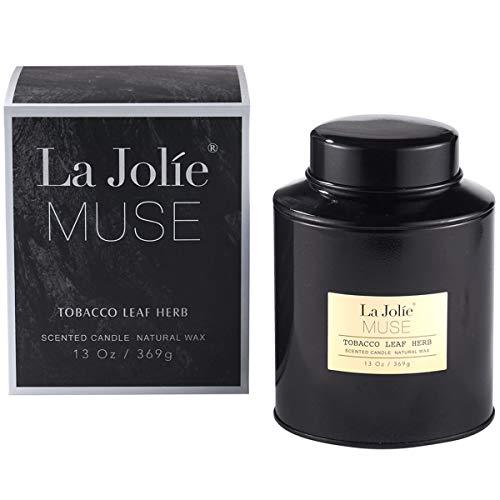 La Jolíe Muse Vela perfumada de Hojas dehiedrasde Tabaco Grande 95 Horas...