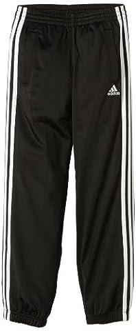 adidas Jungen Trainingshose Essentials 3S Knit PES Pants CH, Black/White, 164, Z30307