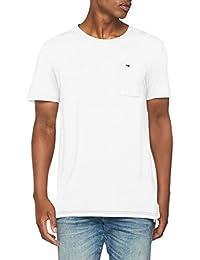 Tommy_Jeans TJM Essential Garment Dye tee, Camiseta sin Mangas para Hombre