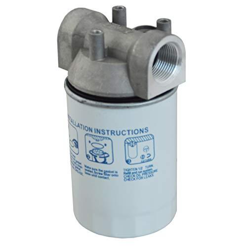 FILTRO CARBURANTE - FILTRO PER POMPA GASOLIO - FILTRO GASOLIO - FILTRO POMPA TRAVASO (filtro gasolio con cartuccia del filtro sostituibile)