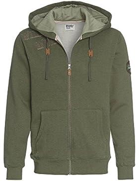 DISTLER Kapuzenjacke in alpinem Style, Herren Kapuzen-Jacke,Sweat-Shirt,Männer,Tracht,Janker