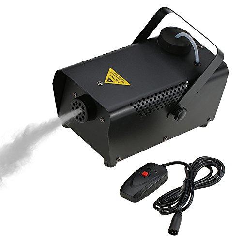 Nebelmaschine Große (Tomshine 400W Nebelmaschine,Rauchmaschine mit Draht-Fernbedienung, 200ml Große Kapazität für Moving Head,Disco Beleuchtung,Led scheinwerfer,für Halloween Hochzeit Party)