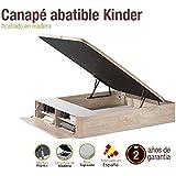 Canapé de madera Kindeer 160x200cm