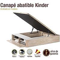 Naturconfort Canapé de Madera Kindeer 160x200cm