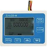 AST Works 2'' Inch Flow Water Sensor Meter+LCD Display Quantitative Control 1-9999L/min