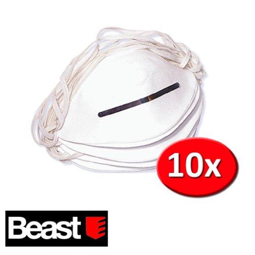 Preisvergleich Produktbild Atemschutzmaske Schutzmaske 10 Stück