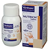 Virbac Nutrich 60 Tab Pets Nutritional Supplement (60 Tablets)