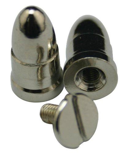 fer 1,52 cm Bullet Rivet Bullet Bolzen Konus Clinch Aufkleber für Gürtel Handtaschen Persönlichkeit Zubehör Schuh oder DIY (20 Stück) (Daft Punk Kostüm)