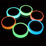 Glow Tape Safety Sticker Removable Luminous Tape Fluorescent Self-Adhesive 2 x 100cm -1PCS