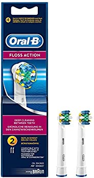 Oral-B EB 25-2 Floss Action Replacement Brush Head, Pack of 2