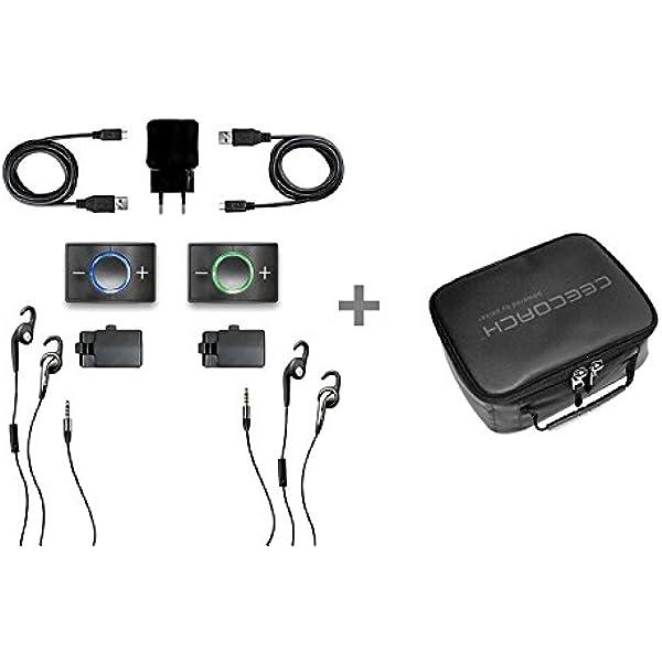 Ceecoach Kit Duo Schwarz Tasche Für 4 Geräte Set Elektronik