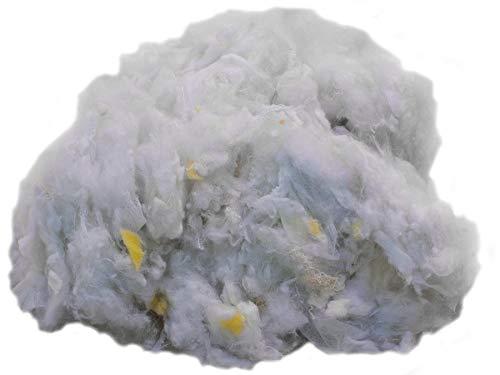 Primaflor - Ideen in Textil 2 kg Füllmaterial Polyesterfasergemisch Watte Kissenfüllung Bastelwatte, Waschbar, Allergikergeeignet, Füllwatte, Füllung für Kissen, Sitzsäcke und Stofftiere (Nähen Sie Ein Panda Kostüm)