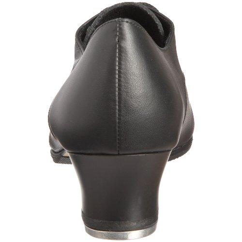 Capezio West End 2 tap, Chaussures danse femme Noir-V.6