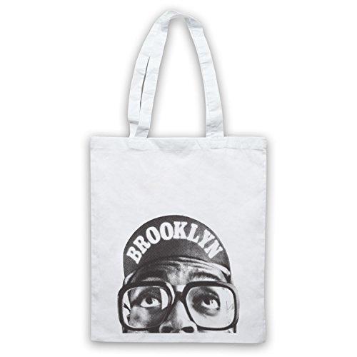 Inspire par Spike Lee Brooklyn Officieux Sac d'emballage Blanc