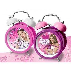 Disney - Violetta Disney. Reloj Campanas 9cm (Modelo surtido)