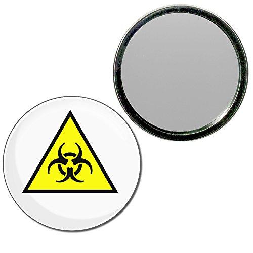 Biohazard - 55mm ronde de miroir compact