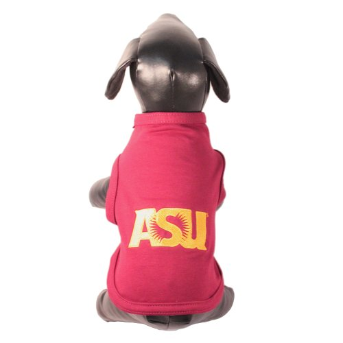 All Star Dogs NCAA Arizona State Sun Devils Tank Top für Hunde, Baumwolle/Lycra, Unisex-Erwachsene, Team Color, Medium -