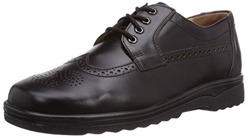 Ganter Eric, Weite G, Brogue Lace-Up Half Shoe Homme marron (espresso 2000)