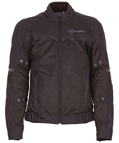 *Modeka X-VENT Herren Sport Motorradjacke Textil – schwarz Größe M*