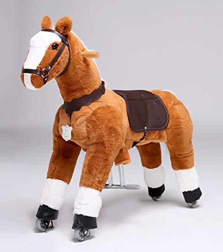 UFREE Horse, Action Pony, Ride on Toy, Medium Moving Rocking Horse, Giddyup, Go Go, Pony 36