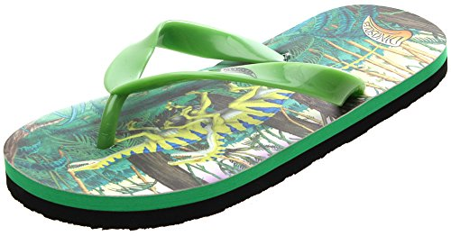 Dinosoles Dinoflips Kids Sandals - Raptor - UK 7/8 (Toddler)