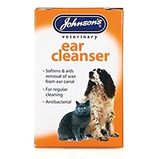 JOHNSONS EAR CLEANSER 18ML - PACK OF 1, 3 OR 6 HEALTHY DOG – VETERINARY (1 PACK) 7