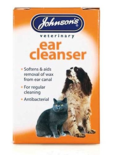 JOHNSONS EAR CLEANSER 18ML - PACK OF 1, 3 OR 6 HEALTHY DOG – VETERINARY (1 PACK) 1