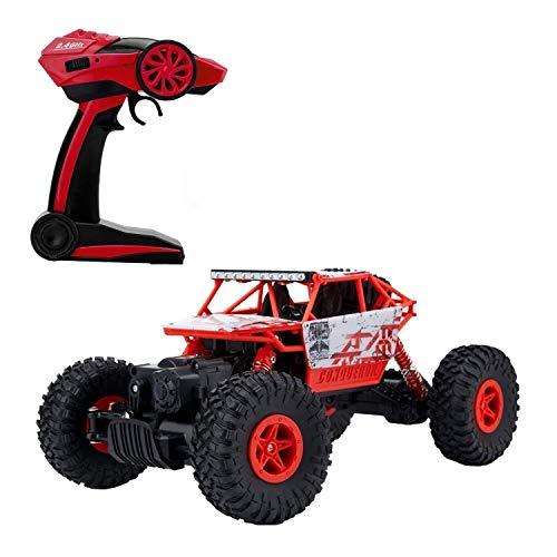 2.4GHz 1/18 Scale Voiture RC Buggy 4WD Tout Terrain Voiture télécommandée...