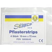 SENADA Pflasterstrips 19x72 mm 4 St preisvergleich bei billige-tabletten.eu