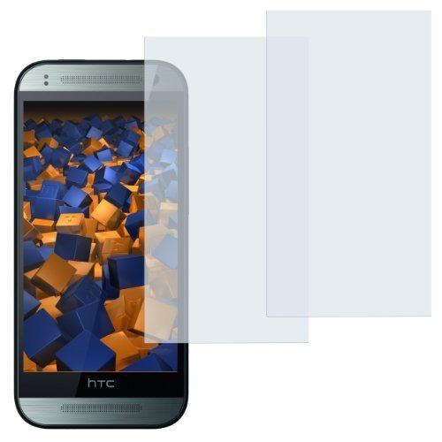 mumbi Schutzfolie kompatibel mit HTC One mini 2 Folie klar, Bildschirmschutzfolie (2x)