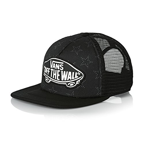 Vans Girls Trucker Cap Beach Girl Star Dot Schwarz (One Size , Schwarz)