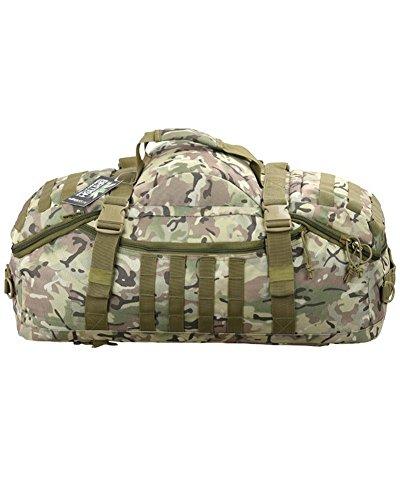 60 L Militär-Tasche für Strategische Einsätze -Militärkadetten, D von E, Expedition, BTP Camouflage, 60 Litre