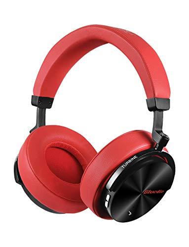 Bluedio T5attiva del rumore cuffie Wireless Bluetooth portatile stereo cuffie con microfono per cellulari e musica (rosso)