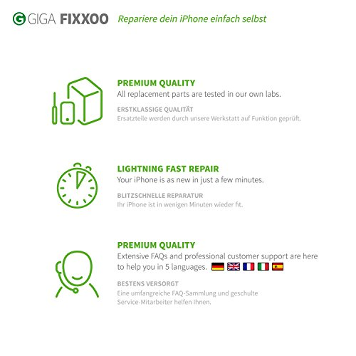 GIGA Fixxoo iPhone 6 Akku Ersatz zum Wechseln und Tauschen bei Defekter Batterie - 3