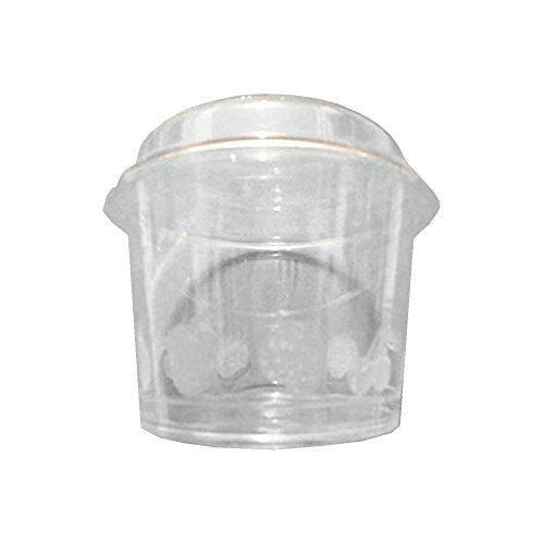 Zoom IMG-3 pz 200 coppette di plastica