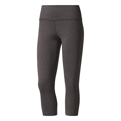 adidas Damen 3/4 Heather Tights, Dark Grey Heather, XL Preisvergleich