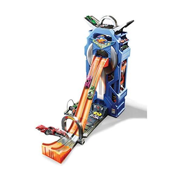Hot Wheels Mega Autolavaggio Playset per Macchinine con Pista Selvaggia e Coccodrillo, Torre dell'Acqua, Vasca del… 2 spesavip