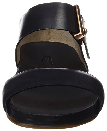 Neosens S952 Restored Skin Ebony Lairen, Sandali con Piattaforma Donna Nero (Ebony)