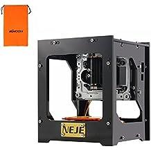 NEJE DK-8-KZ Mini USB Incisore Stampante Laser, 1000mW Engraver Macchina per Incisione, Operazione Off-line con (108 Chiave Usb)