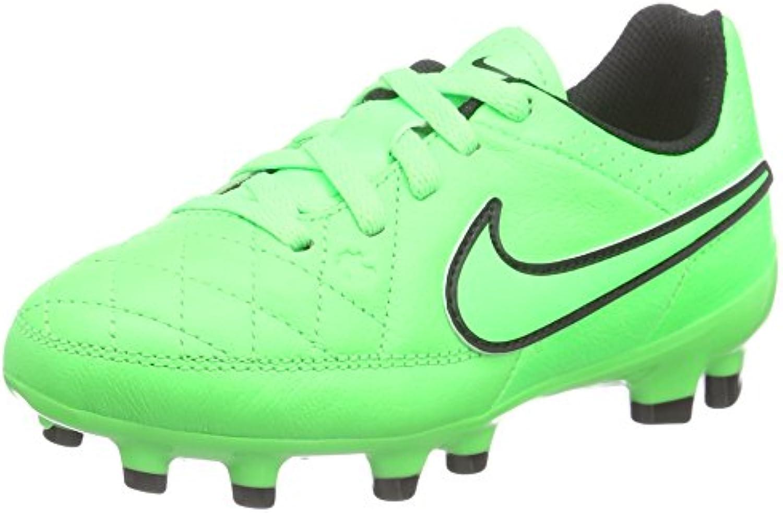 nike hommes eacute; eacute; eacute; cuir fg chaussures de football junior tiempo genio f88000