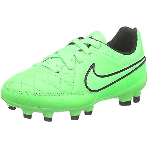 NikeTiempo Genio Leather FG - Zapatillas de Fútbol Entrenamiento  Niños