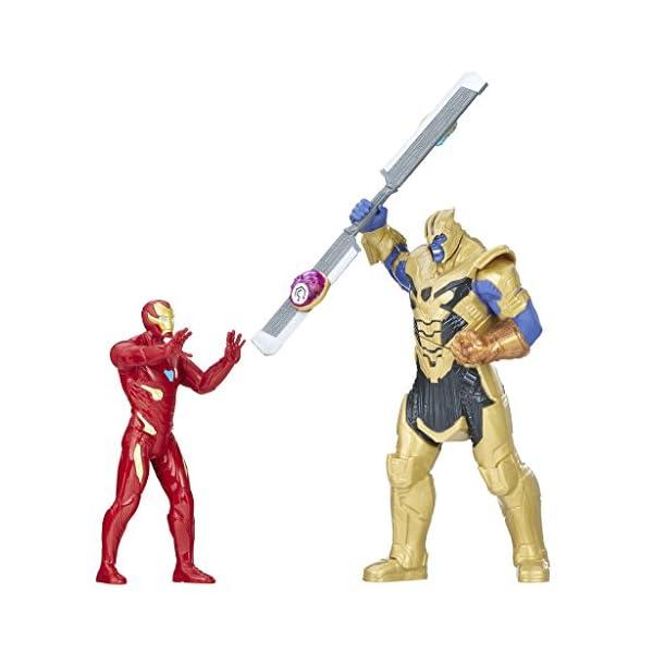Marvel Avengers- Iron Man Vs. Thanos Set de Combate (Hasbro E0559105) 1