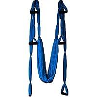 MaMaison007 Lo Yoga Swing Sling trapezio amaca per palestra Yoga Pilates strumento cuscinetto-blu chiaro