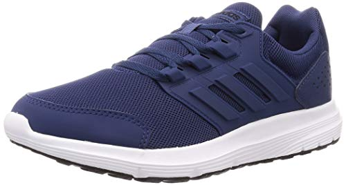 Adidas Galaxy 4, Running Shoe Hombre-Zapatillas de Deporte, Tech Indigo/Tech Indigo/Footwear White...