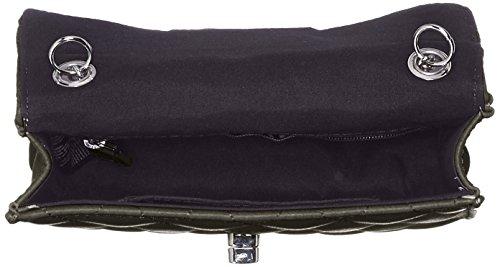 PIECES Damen Pcsweet Cross Body Schultertasche, 5x17x18 cm Schwarz (Black)